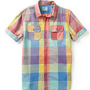 Scotch &amp; Soda Short Sleeve Multi Check Shirt | Piperlime