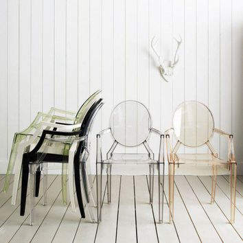 Kartell Louis Ghost Chairs