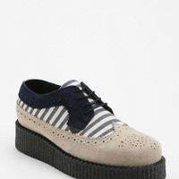 Urban Outfitters - Underground Striped Brogue Creeper