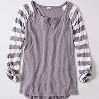 Anthropologie - Bangle Stripes Henley