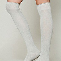 Twill Tall Sock at Free People Clothing Boutique
