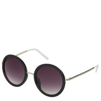 60&#x27;S Oval Sunglasses - Back In Stock - New In - Topshop USA
