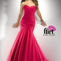 Flirt by Maggie Sottero P4708 Pink Mermaid Dress