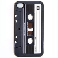 iPhone 4 4s Case Audio Cassette Hard Case comes in by KustomCases