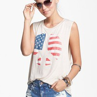 Project Social T Peace Muscle Tank (Juniors) | Nordstrom