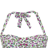 BetseyJohnson.com - ENCHANTED BANDEAU TOP WHITE
