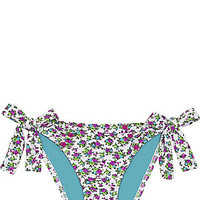 BetseyJohnson.com - ENCHANTED TIE SIDE BOTTOM WHITE