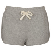 Grey Side Panel Runner Shorts - Shorts - Clothing - Topshop