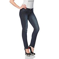 Kardashian Kollection- -Women's Petite Kourtney Slim Skinny Jeans-Clothing-Women's-Jeans