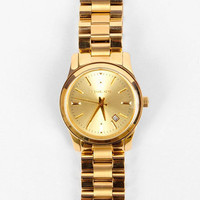 Michael Kors Watches Round Classic Watch in Gold :: tobi