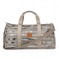 Bling Stripe Duffle Bag