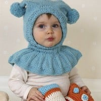 Hand Knit Baby Hat Little Joker | tvkstyle - Accessories on ArtFire