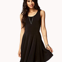 Textured Knit Skater Dress | FOREVER 21 - 2077526201