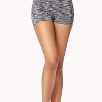 Space-Dye Workout Shorts | FOREVER 21 - 2046446956