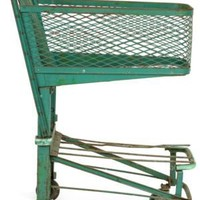 One Kings Lane - Ilon Specht - Vintage Steel Grocery Store Cart