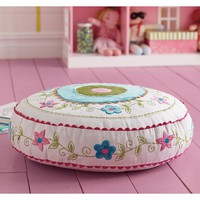 Floral Pattern Floor Cushion