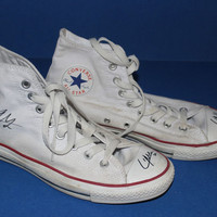 One Direction Liam Payne's  Autographed Shoes