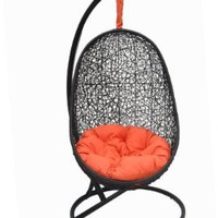 Belina - Nature Wicker Porch Swing Chair - Great Hammocks - Model - Y9037BK:Amazon:Home & Kitchen