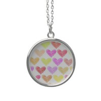 Hearts Necklace | Zazzle.co.uk