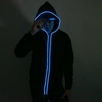 Light Up Hoodie - Blue