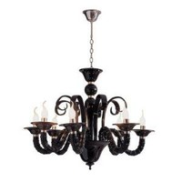 Alphaville Design 660317 Bella Chandelier, Black Acrylic - Lighting Universe