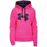 Under Armour Storm Armour Fleece Big Logo Hoodie - Women's at Foot Locker