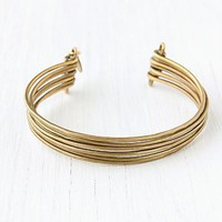 Free People Brass Upper Arm Cuff