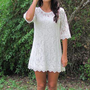 boho shift dress from bluebay