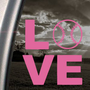 Amazon.com: LOVE BASEBALL SOFTBALL Pink Decal Truck Window Pink Sticker: Arts, Crafts &amp; Sewing