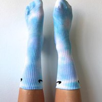 nike tie dye dip dye ocean wash socks  from dirtysaint