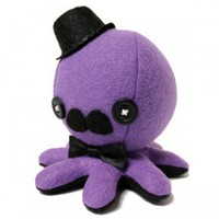 Handmade Gifts | Independent Design | Vintage Goods Sir Fancy Octo-Plushie! - Collectible Plushes