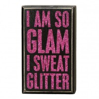 So Glam Box Sign