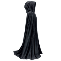 Three Quarter Length Velvet Cape                   - New Age, Spiritual Gifts, Yoga, Wicca, Gothic, Reiki, Celtic, Crystal, Tarot at Pyramid Collection