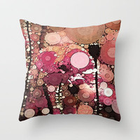 ::  Poppy-Dew :: Throw Pillow by GaleStorm Artworks