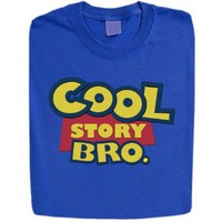 Amazon.com: Stabilitees Funny Cool Story Bro Pixar Toy Story Style Womens T Shirts All Colours: Clothing