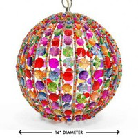 Wake Up Frankie - Super Big Orb Pendant Light - Multi : Teen Bedding, Pink Bedding, Dorm Bedding, Teen Comforters