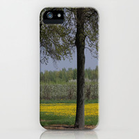 Between the Trees  iPhone &amp; iPod Case by JUSTART