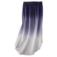 Mossimo Women&#x27;s Ombre High-Low Maxi Skirt - Assorted Colors