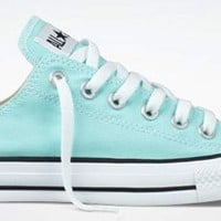 Converse Chuck Taylor All Star Lo Top Aruba Blue:Amazon:Shoes