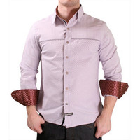 English Laundry ELW1337400 Woven Dress Shirt Plaid