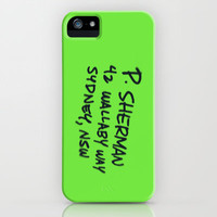 P Sherman 42 Wallaby Way Sydney, NSW iPhone & iPod Case by Kian Krashesky