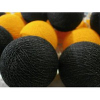 Amazon.com: I Love Handicraft Bubble Bee Color Tone Cotton Ball String Lights Patio Wedding and Party Decoration (20 Balls/set): Everything Else