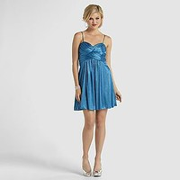 B Smart- -Junior's Sparkling Sleeveless Party Dress-Clothing-Juniors-Dresses