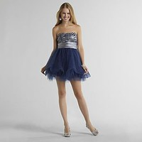 Trixxi- -Junior's Strapless Party Dress-Clothing-Juniors-Dresses