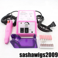 Professional Manicure Pedicure Electric Drill Nail Pen Machine Set Kit 110V,220V