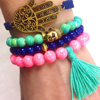 Aurora Boho Bracelet Stack