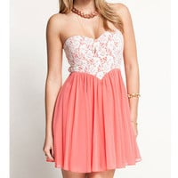 Fashionwoman  Lovely Sweet lace dress