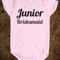 JUNIOR BRIDESMAID ONE-PIECE