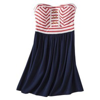 Target : Xhilaration&amp;reg; Juniors Strapless Fit &amp; Flare Dress - Assorted Colors : Image Zoom