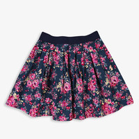 Pleated Floral Skirt | FOREVER21 girls - 2000048312